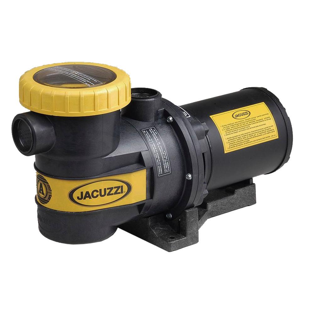 Bomba jacuzzi com pr filtro para piscina 3b t 3 0cv for Bombas autoaspirantes para piscinas